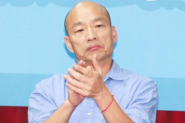 ▲高雄市長、國民黨總統參選人韓國瑜。(圖/記者葉政勳攝)