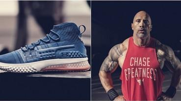 挾硬漢精神登台!巨石強森首款簽名鞋「UA Project Rock 1」販售資訊公開