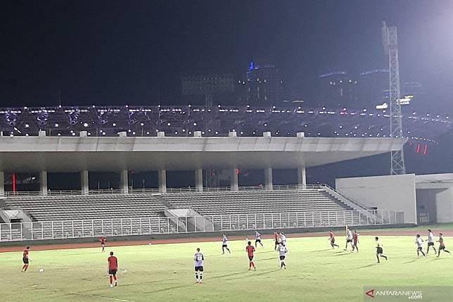 Shin Tae-Yong kecewa timnas kalah 1-4 dari Persita