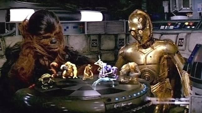 Game 'Dejarik di 'Star Wars'. (Foto: Star Wars)