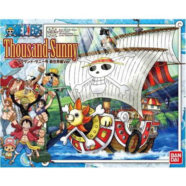 航海王 海賊王 BANDAI組裝模型 MG 新世界篇 千陽號 Thousand Sunny