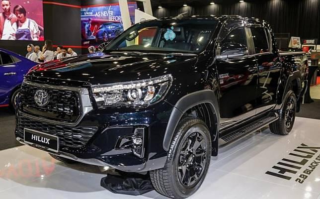 Toyota Hilux Black Edition 2.8 rilis di Malaysia