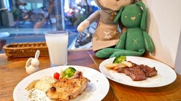 台東牛排美食推薦 宅兔摘星廚房~可愛兔兔相伴大口吃牛排