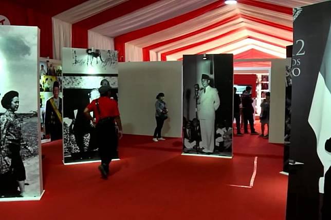 Mengengang sejarah Indonesia di Festival Indonesia Maju