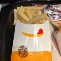 Mフレンチフライ - 実際訪問したユーザーが直接撮影して投稿した西新宿ハンバーガーバーガーキング 新宿小滝橋店の写真のメニュー情報