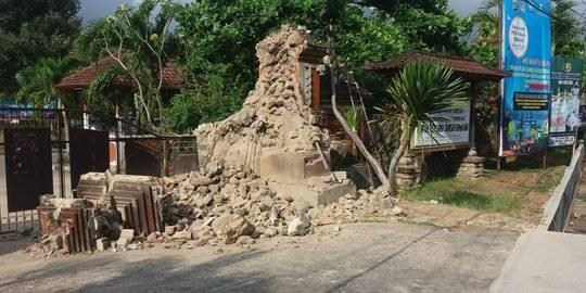 Mulai dari Berlarian, Hingga Ibu-ibu Lupa Pakai Baju, inilah Cerita kepanikan warga Bali saat diguncang gempa 6,3 SR