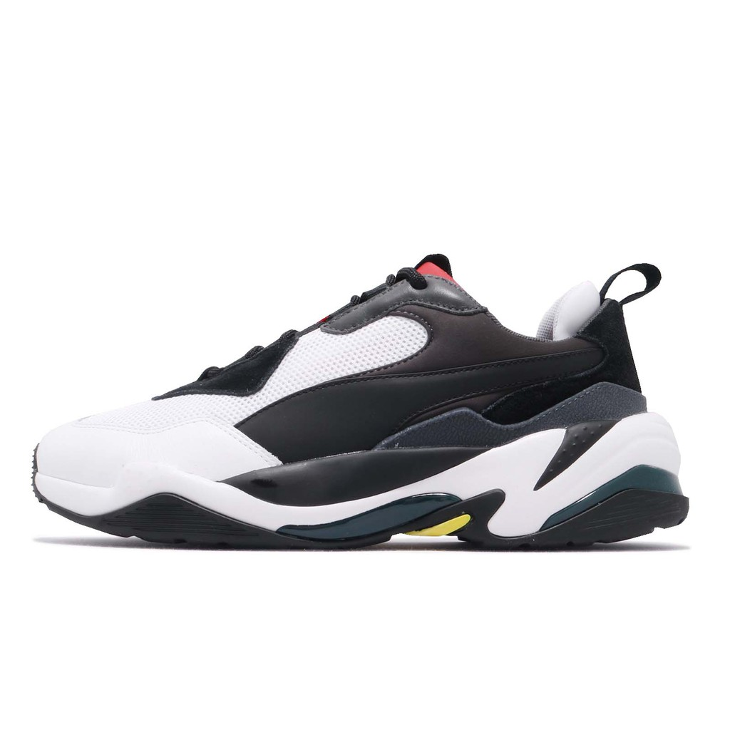 Puma 老爹鞋 Thunder Spectra 黑 白 復古慢跑鞋 運動鞋 男鞋 女鞋 36751607 【ACS】
