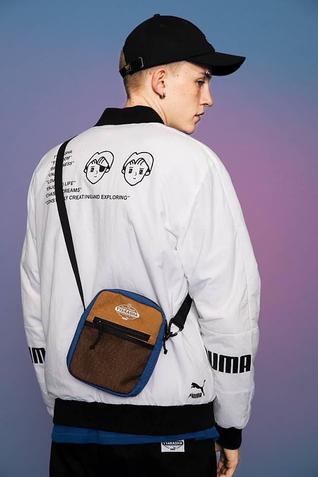 配飾包括迷你背包、收納小袋、貼身小袋、鴨舌帽、針織帽等。(互聯網)