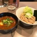 海老つけ麺 - 実際訪問したユーザーが直接撮影して投稿した千駄ケ谷つけ麺専門店つけ麺 五ノ神製作所の写真のメニュー情報