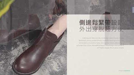 【Miaki流行女鞋】短靴.韓風精品低跟踝靴