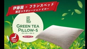 茶湯當飲料,茶渣做枕頭,伊藤園的茶葉回收枕