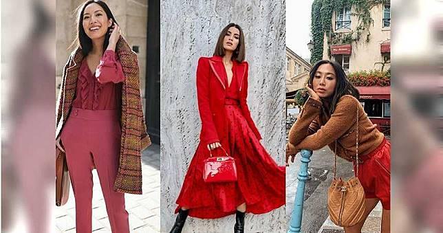 新年必看!你搞不定的「紅色穿搭」快跟時尚潮人學起來