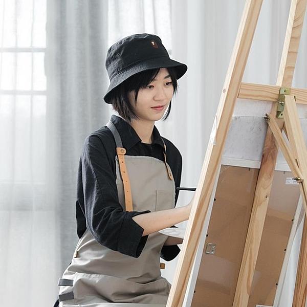畫畫圍裙女時尚專用成人美術生罩衣夏季繪畫油畫室防水工作服定制