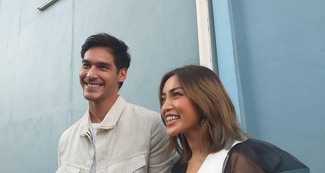 Richard Kyle dan Jessica Iskandar saat ditemui Grid.ID di kawasan Tendean, Jakarta Selatan, Selasa (18/6/2019).