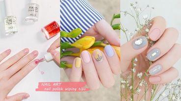 美甲師傳授塗指甲油技巧!指甲油更均勻持久、不掉漆,在家DIY做出「類光療」感美甲