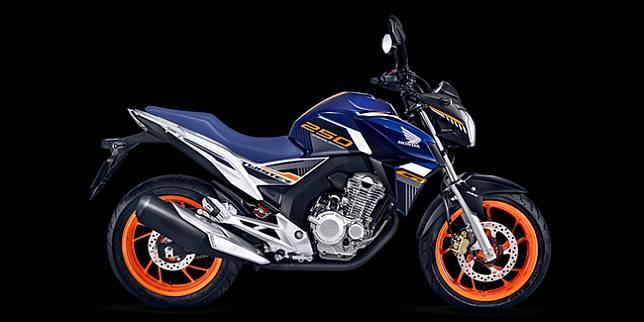 Honda CB250 Twister (Honda Brazil)