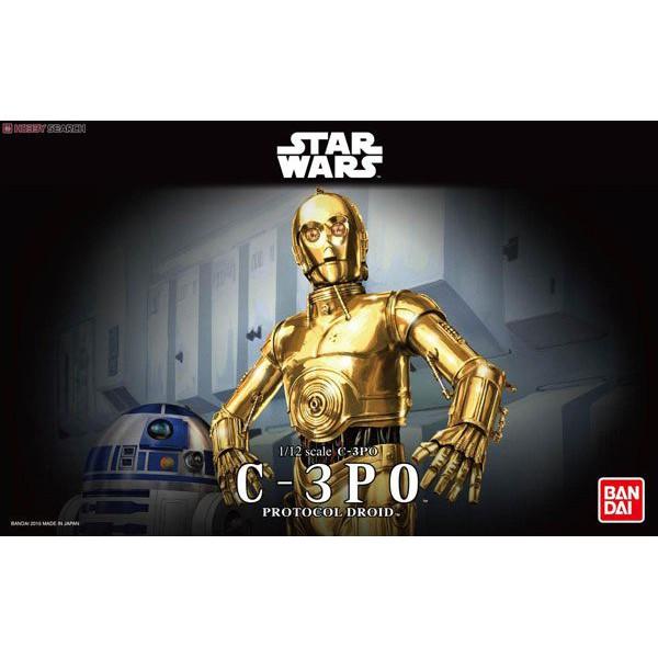 玩具e哥 組裝模型 星際大戰 1/12 C-3PO 禮儀機器人 96418
