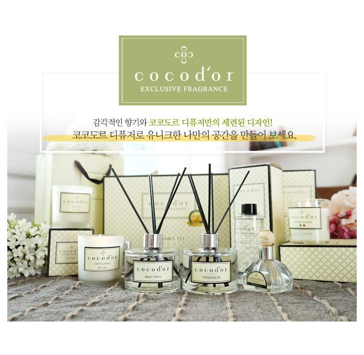 商品韓國 cocodor 經典款擴香瓶 規格200ml 材質isopardpm香料 產地韓國 其他特殊注意事項 製造日期-見外包裝保存期限-未拆封3年
