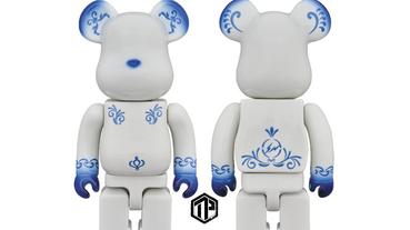 fragment design x Medicom Toy 聯乘「Kutani」BE@RBRICK曝光!