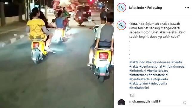 Meski aturan terkait usia penyewa motor listrik Migo sudah tertera jelas, nyatanya masih banyak anak di bawah umur yang menggunakan kendaraan berwarna kuning itu di jalan raya.