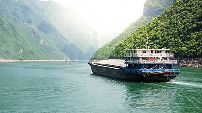 Sungai Yangtze di China. [Shuttestock]