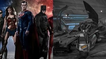 《正義聯盟》曝光新型蝙蝠車 強調電影畫面將比《蝙蝠俠對超人》更明亮!