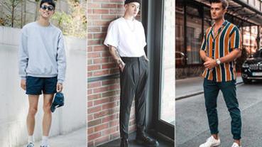 換季時節衣服怎麼穿?型男必學「一長一短」穿搭公式,搞定你的春季造型!