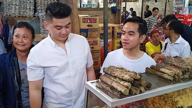Gibran Rakabuming dan Chef Arnold