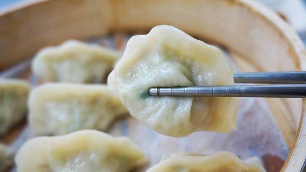 【台北美食】蒸的不一樣-皮薄餡多的美味蒸餃