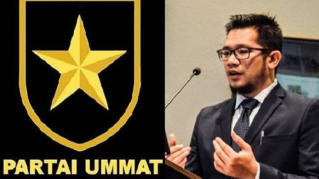 Logo Partai Ummat dan Ketua Umum Partai Ummat, Ridho Rahmadi. Berikut profil Ridho Rahmadi.