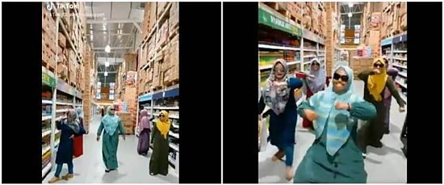 Aksi emak-emak main TikTok di mal ini tuai cibiran netizen, kenapa ya?