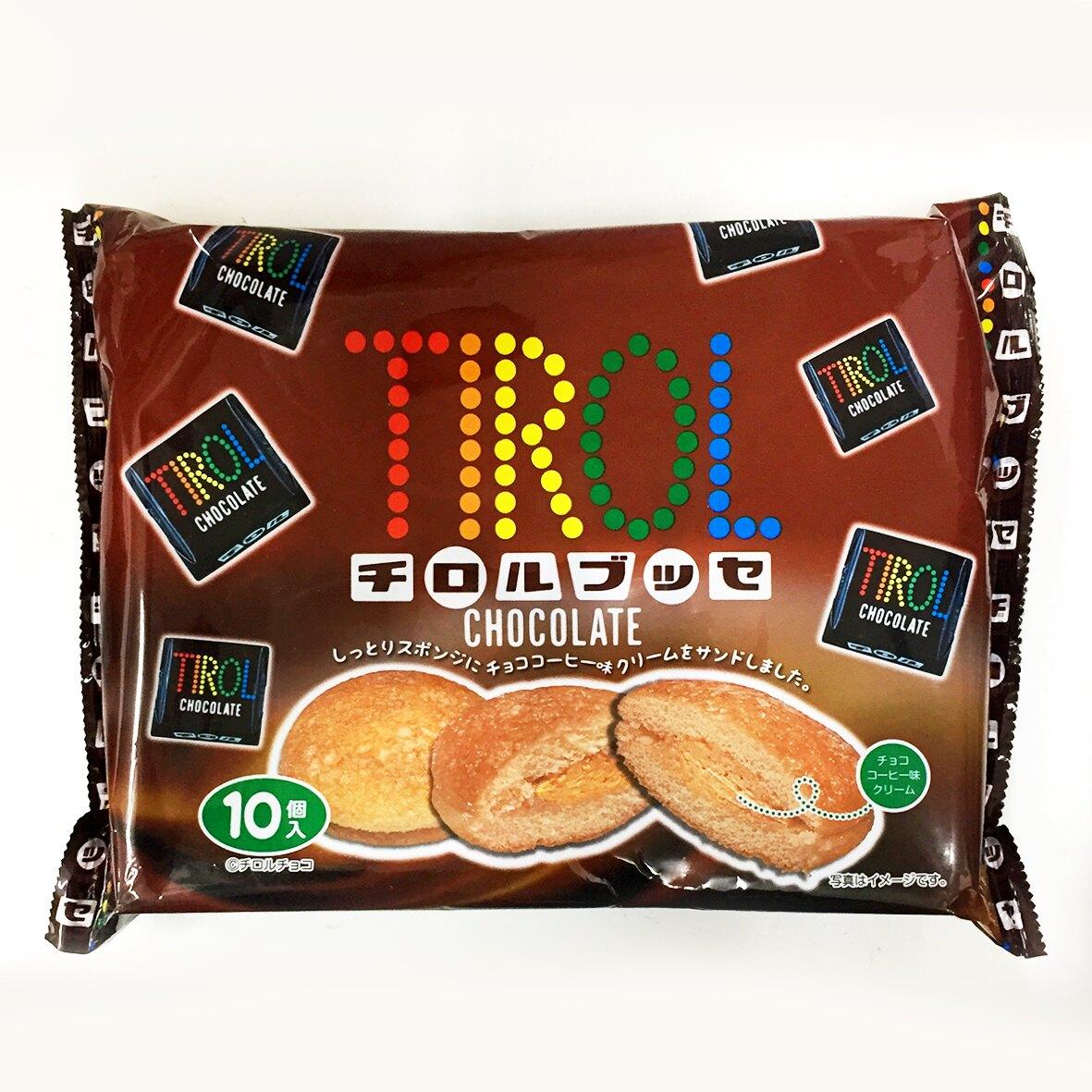 萬國屋 TRIOL咖啡巧克力泡芙 10個入