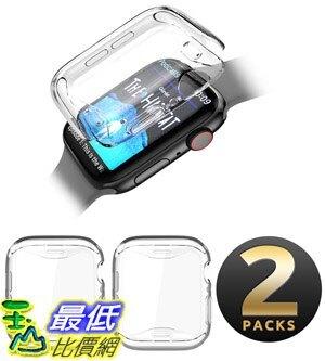 [8美國直購] 保護套 SupCase TPU Protector Case for Apple Watch Series 4 2018/Series 5 2019 [44mm], Built-in