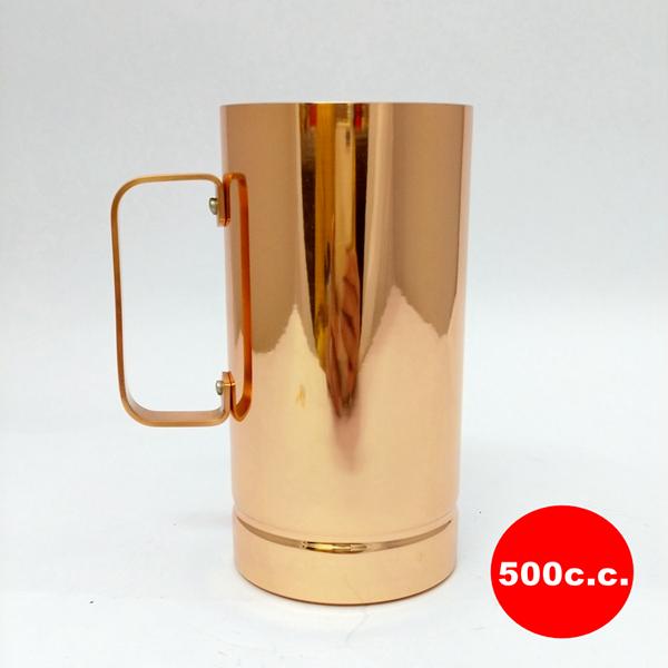 日本銅杯【新光堂】長型銅製馬克杯 500cc咖啡杯 銅茶杯水杯 下午茶~日本銅器Sinkoudo 送禮