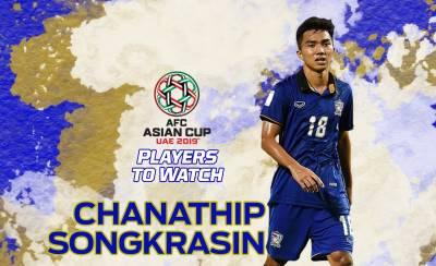 Chanathip Songkrasin khiến châu Á ngả mũ thán phục