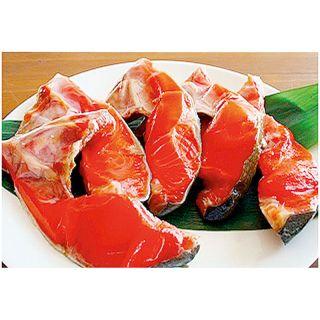 <ロシア産>塩紅鮭かま肉