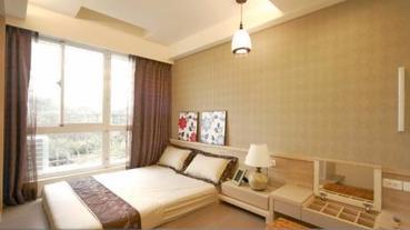 不拘一格 多樣木質感臥室設計