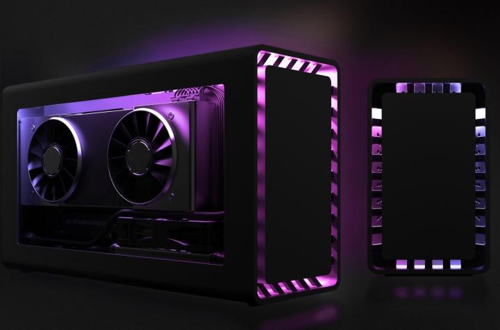 RGB燈光套件可以帶來不同的視覺感受。