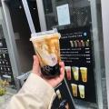 北海道牛乳タピオカ - 実際訪問したユーザーが直接撮影して投稿した北新宿タピオカ茶咖匠 大久保店の写真のメニュー情報