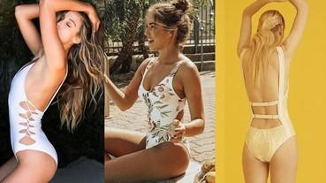 曬肉穿比基尼太老梗?該試試今夏最流行的monokini,露得高級又時髦!
