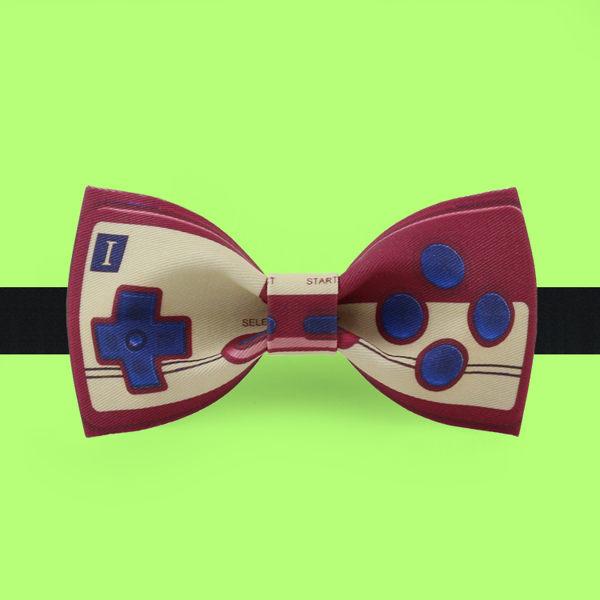 領結 非設計布生活 時尚領結蝴蝶結 新郎禮服正裝領結煲呔 紅白機 曼慕衣櫃
