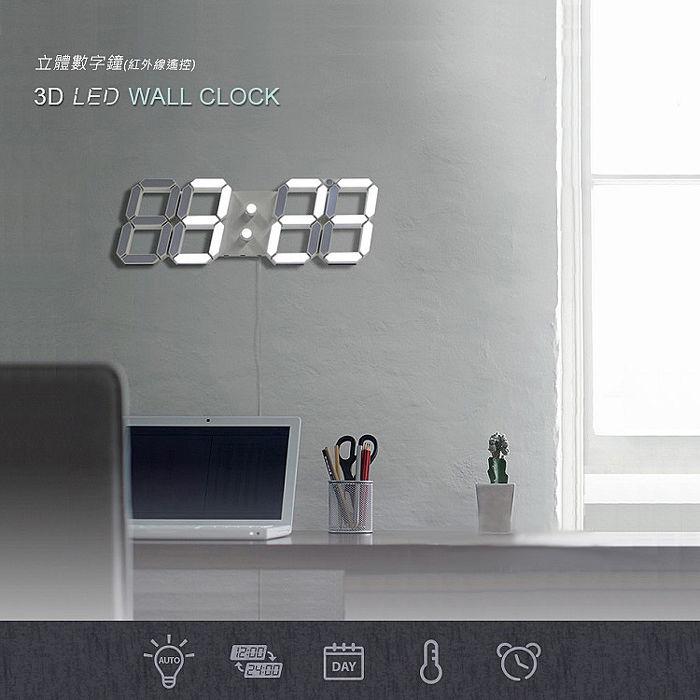 熱銷歐美 可遙控 大款數字時鐘
