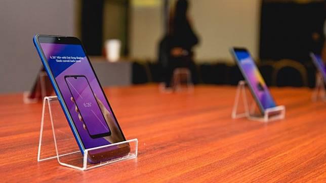 Xiaomi meluncurkan Redmi 7 di Jakarta, Selasa (23/4/2019). [Suara.com/Tivan Rahmat]