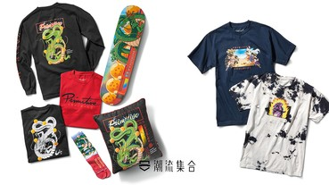 Primitive Skateboarding x《Dragon Ball Z》全新聯名登場!