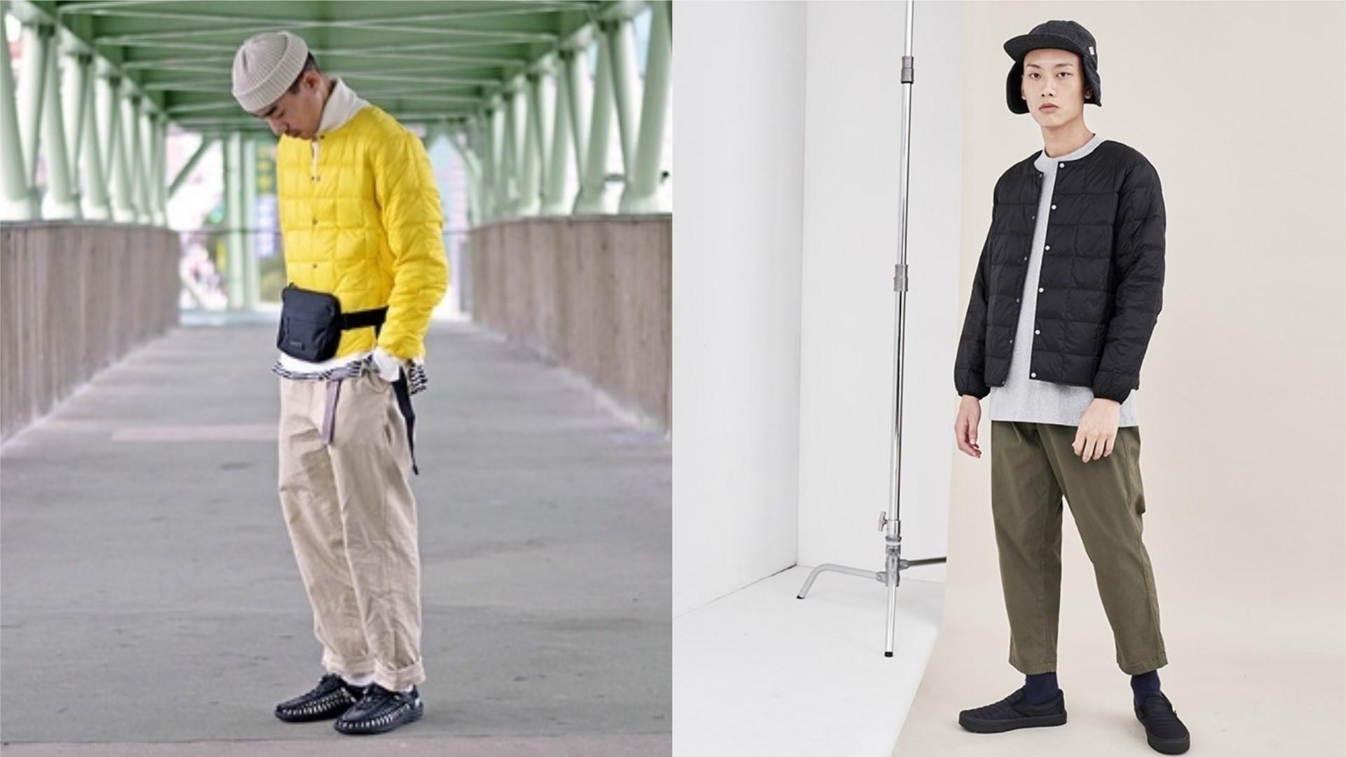 冬季男子穿搭提案:展現多風格率性的無領外套單品!