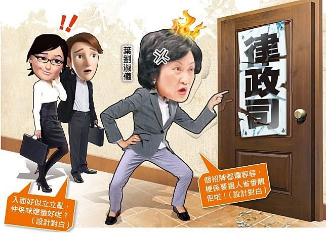 政府修訂《逃犯條例》搞到一鑊粥,葉劉淑儀都鬧爆。(設計圖片)
