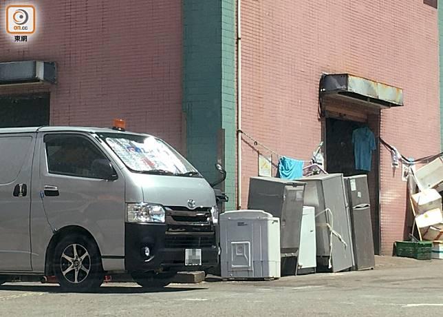 廢電器隨街棄置情況仍有出現。(資料圖片)