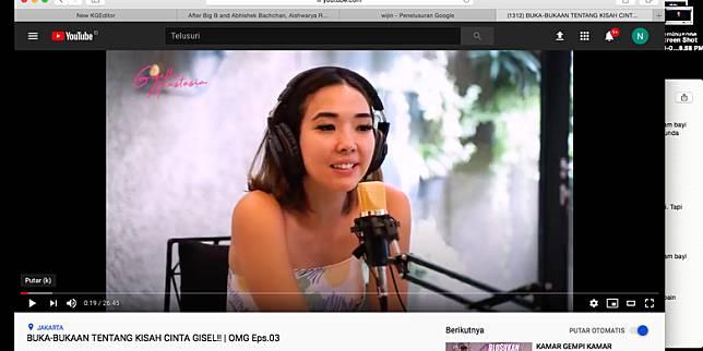 YouTube Gisella Anastasia
