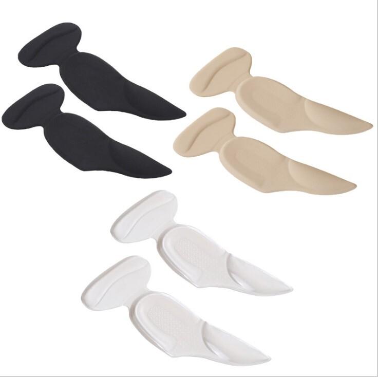 3合1矽膠鞋後跟貼足弓墊 後跟貼+後跟墊+足弓墊 3合一功能