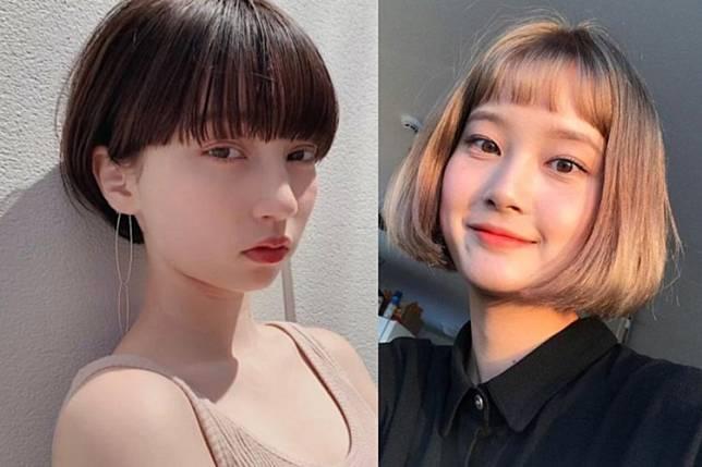 7 Model Rambut Pendek Berponi Ala Korea Agar Wajah Lebih Muda 10 Tahun Secara Instan Womantalk Com Line Today